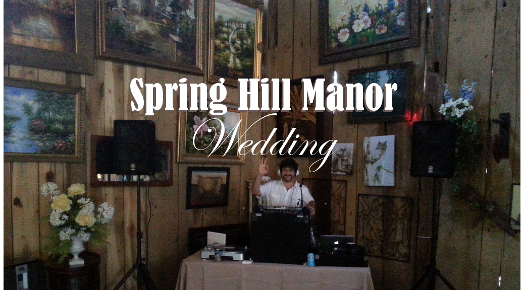 spring hill manor wedding