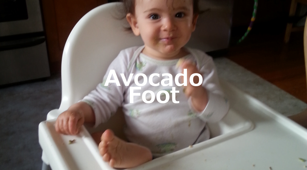 avocado foot