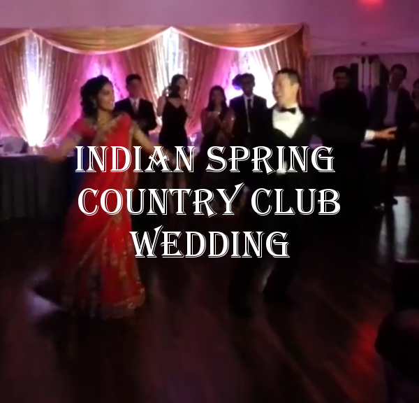 Indian Spring Country Club Wedding