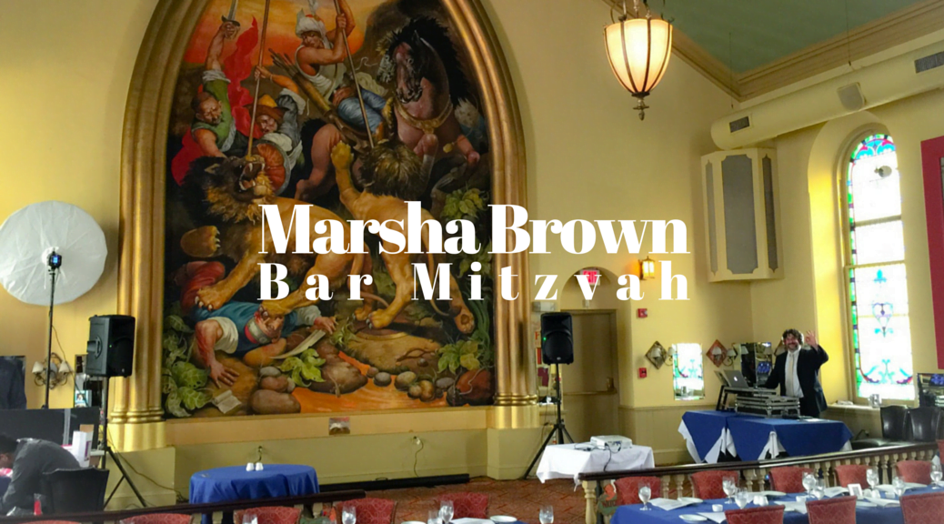 Marsha Brown Bar Mitzvah