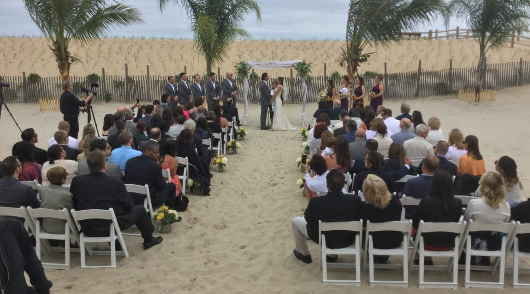 SEA SHELL RESORT & BEACH CLUB WEDDING ON LBI