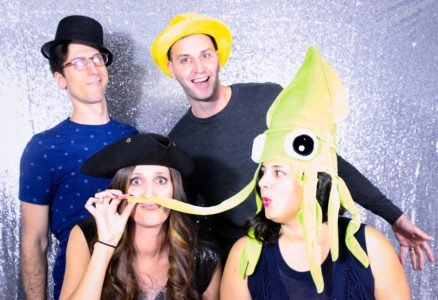 Birthday Party at Bernie's in Hatboro - Photo Booth Squid