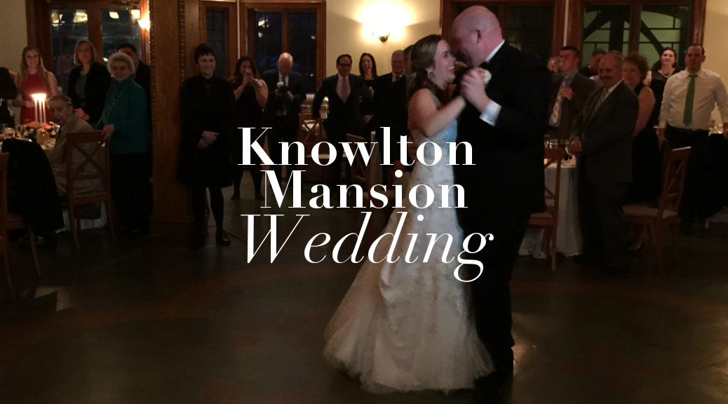 knowlton mansion wedding