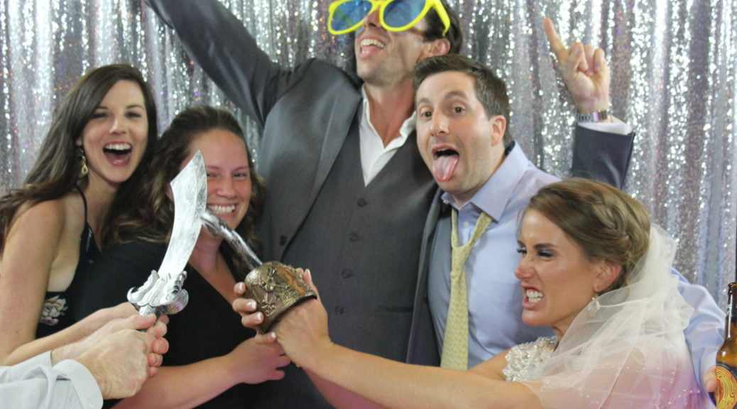 Sea Shell Resort - Long Beach Island Wedding Photo Booth